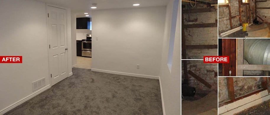 Affordable Basement Finishing